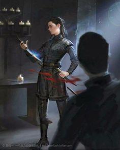 Arya Stark, Petyr Baelish The Littlefinger - Game of Thrones Dessin Game Of Thrones, Game Of Thrones Artwork, Game Of Thrones Arya, Game Of Thrones Funny, Ned Stark, Arya Stark Art, Sansa Stark, Lord Baelish, Petyr Baelish