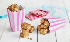 - News von jetzt! In WebApp Format! Fudge, Krispie Treats, Rice Krispies, Bonbon Caramel, Christmas Sweets, Place Card Holders, Breakfast, Desserts, Recipes