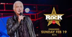 The 2016 Classic Rock Awards, which featured Jimmy Page, will be shown on AXS TV on February 19.
