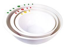 Curious Chef 3 Piece Mixing Bowl Set, Child, Green/White ** Want to know more, click on the image.