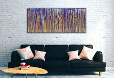 View: Translucent panorama (Natures imagery) 1   Artfinder Large Painting, Acrylic Painting Canvas, Abstract Painters, Abstract Art, Painting Edges, Triptych, Wall Spaces, Angels, Wall Decor