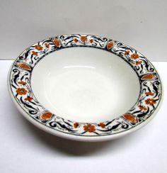 Vintage McNicol China Decorative Ceramic Bowl by VINTAGEandMOREshop on Etsy https://www.etsy.com/listing/235184767/vintage-mcnicol-china-decorative-ceramic