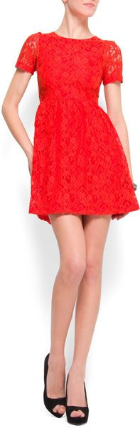 Aline Lace Dress - Lyst
