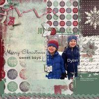 Merry Christmas Sweet Boys