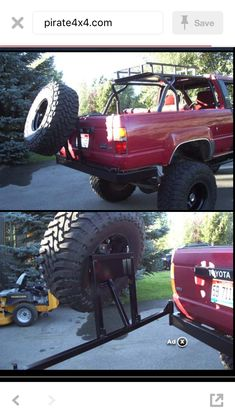 Toyota 4x4, Toyota Trucks, Toyota 4runner, 1st Gen 4runner, Bronco Concept, Pickup Accessories, Truck Mods, Metal Fab, Body Mods