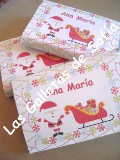 Chocolatinas para endulzar la Navidad! http://www.lasgalletasdesofia.blogspot.com