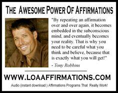 http://www.loaaffirmations.com Affirmations Do Work!