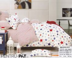 Lenjerie din bumbac 6 piese - B 008 Comforters, Toddler Bed, Blanket, Furniture, Home Decor, Creature Comforts, Homemade Home Decor, Blankets, Home Furnishings