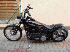 Harley Davidson  Softail Springer Old School Bobber  TOP  Umbau Super Geil !!!