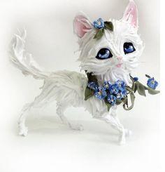 Фигурка котфигурка котенкафигурка котенка с от lightfigurine