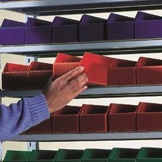 Kbins - Polypropylene Bins. Easy assembly and long shelf life.