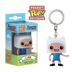 Funko Pocket Pop: Adventure Time - Finn Keychain