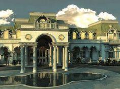 """""""Versailles"""", a maior casa dos Estados Unidos"""