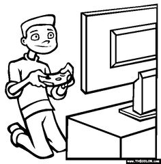 25 Best Video Game Coloring Pages images | Coloring books, Coloring ...