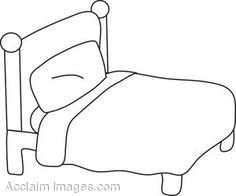 big bed pics coloring pages - photo#8