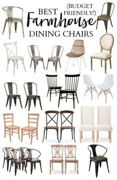Chairs for Farmhouse!