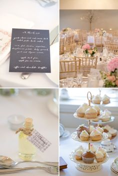 A romantic wedding at Stoke Place with a Maggie Sottero dress and sparkly Jimmy Choo shoes with cherry blossom and rose bouquets._0016