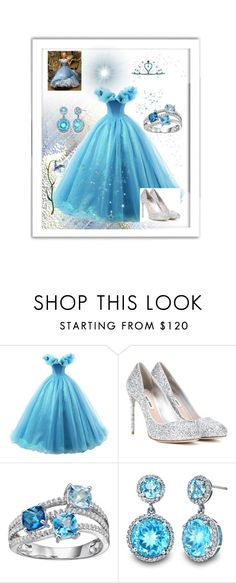 """Blue Princess"" by black-passion ❤ liked on Polyvore featuring Miu Miu, Kate Marie and blackpassion"