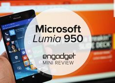 Mini review video: Our verdict on the Lumia 950 in about a minute  Engadget's review of Microsoft's Lumia 950 was so controversial that a few of you sent hateful Twitter DMs to our author (tsk tsk guys). Still as much as we hate to disappoint our readers we need to stand our ground on this one: While Windows 10 Mobile has promise as a platform the 950 itself isn't exactly what we'd call flagship-grade hardware. The design lacks the charm and polish of earlier Lumia handsets and the battery…