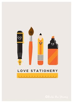 love stationery. Fun