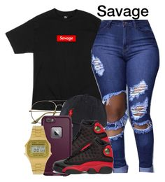 """""""Untitled #656"""" by creativenarwhal ❤ liked on Polyvore featuring Polo Ralph Lauren, NIKE and Casio"""