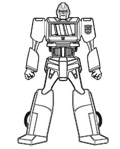 transformer happy birthday coloring pages - photo#23