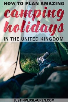 Thinking about planning your camping holidays in the UK this summer? Here are some of the best campsites in England to plan your camping holidays abroad. Solo Camping, Camping With Kids, Family Camping, Camping Hacks, Camping Ideas, Diy Camping, Camping Guide, Camping Sites Uk, Camping Essentials