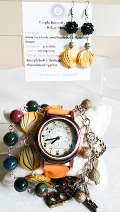 Bloodstone Watch Arm candy