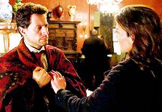 Somehow Jo does everything he needs with just a hand on his. Without even a hug. I like her.