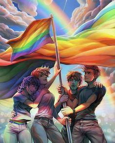 Celebrating equality.
