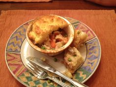Rib Stickin' G.F. Chicken Pot Pie