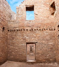 Doorways- Chaco Canyon, New Mexico