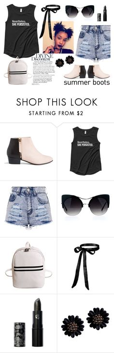 """""""Divine Discontent"""" by wearyourdissent ❤ liked on Polyvore featuring Nine to Five, Lipstick Queen and feminism"""