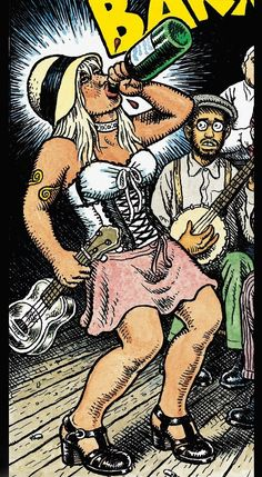 r crumb | She's the Lead Singer