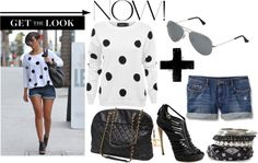 """Frankie Sandford - Get the look now!"" by rose ❤ liked on Polyvore"