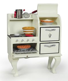Look at this 1930s Stove for 18'' Doll on #zulily today!