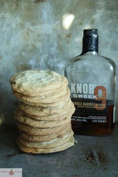 Bourbon, Bacon and Pecan Cookies by Heather Christo, via Flickr
