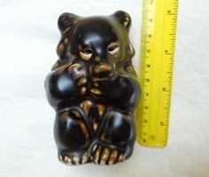 A fantastic piece of Stone-wear form Denmark. Condition: Excellent, no Royal Copenhagen, Bear Cubs, Antique Items, Brown Bear, Piggy Bank, Denmark, 1960s, Lion Sculpture, Statue