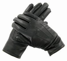 Vegan Leather Gloves