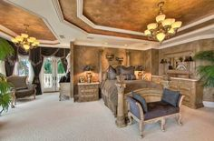 Loooove this bedroom, Perfect for house on some exotic place