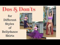 Dos & Don'ts for Different Styles of Belly Dance Skirts - YouTube