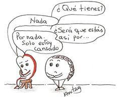 Cansancio... Por @anitzuy_veloz  #pelaeldiente