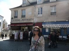 In the square at Montmartre