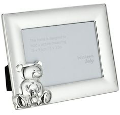 cdbcc631fb0e Christening Gifts, Baby Shower, Frame, Home Decor, John Lewis, Silver Plate
