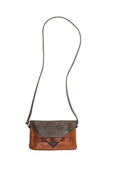 Yami: Contrast Cross Body Bag | Fair Trade Leather Bag | Raven + Lily