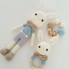 Hayırlı sabahlar güzel bir hafta sonu dilerim ❤ tatlı tavşan takımımız hazır veee Ramazan kampany - missgurumi
