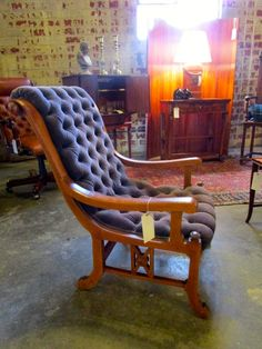 Arts & Crafts Accent Chair — Sarah Cyrus Home