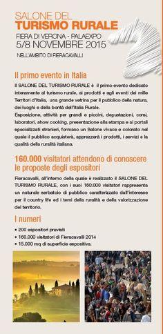 #SalonedelTurismoRurale www.salonedelturismorurale.it