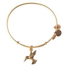 Hummingbird Charm Bracelet | Alex and Ani