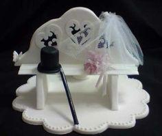 Top hat & Veil bench
